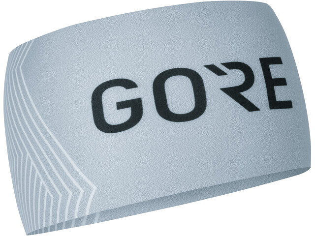 GORE WEAR M Opti Bandeau, light grey/white